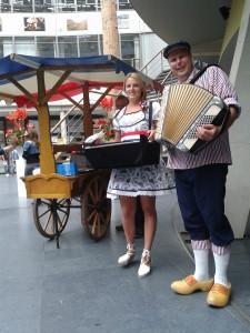 Hollandse accordeonist huren